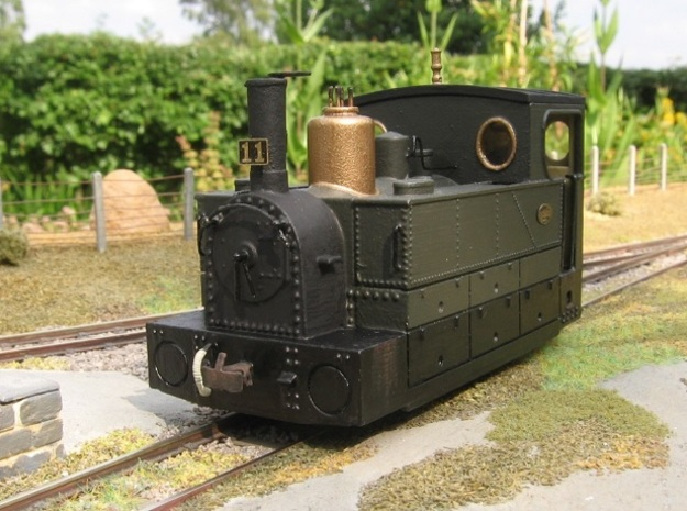 00n3 CdN/Sarthe style loco   in Smooth Fine Detail Plastic