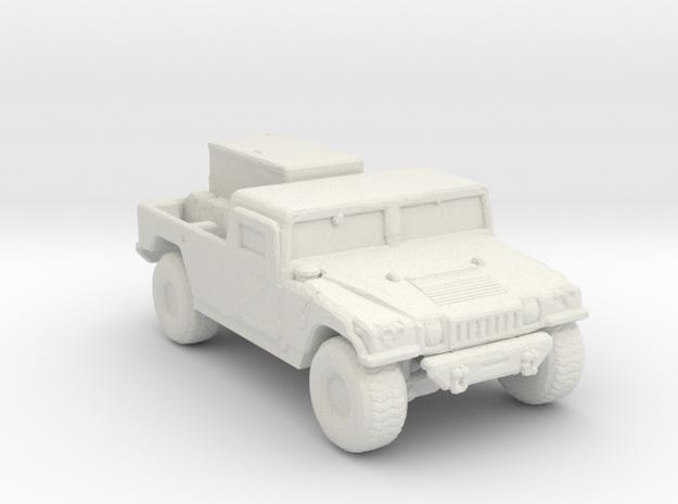 M1097a2 GEN 285 scale in White Natural Versatile Plastic