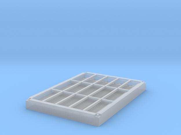 Lüftungsgitter HGm 4/4 & Gem 4/4 Widerstände in Smooth Fine Detail Plastic