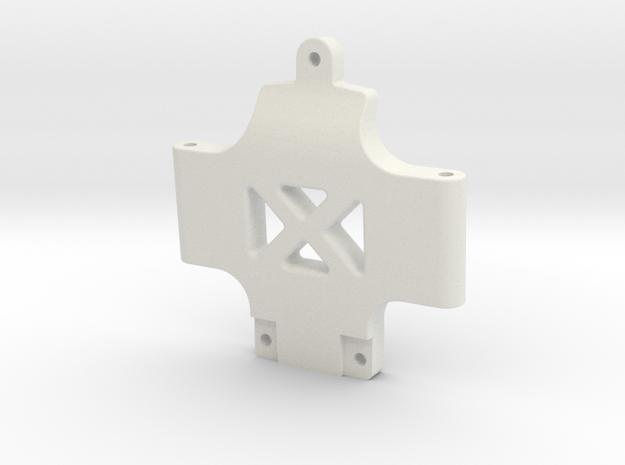 Grasshopper 2 Ultra G Front Wishbone Mount in White Natural Versatile Plastic