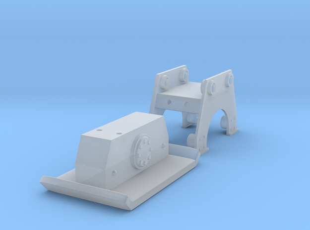 Plate packer for 1/50 excavators in Smooth Fine Detail Plastic
