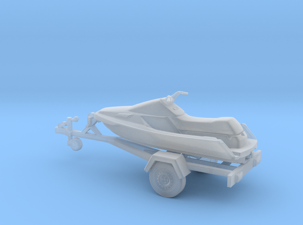 Jet Ski - HOscale in Smooth Fine Detail Plastic