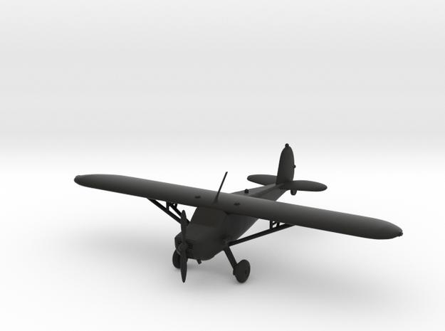 Cessna 120 in Black Natural Versatile Plastic