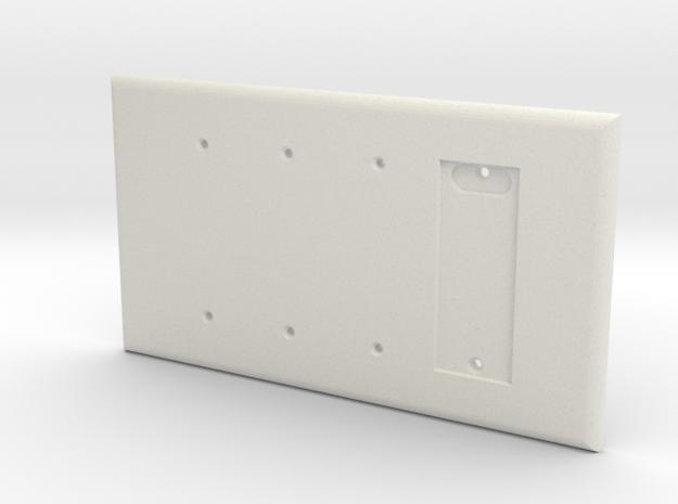 Philips HUE Single Dimmer Plate 4 Gang Blank in White Natural Versatile Plastic