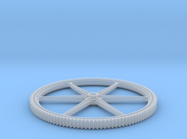 Six Spoke Gear in Smooth Fine Detail Plastic