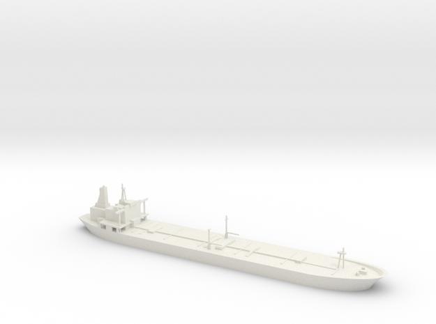 1/1250 Oil Tanker in White Natural Versatile Plastic