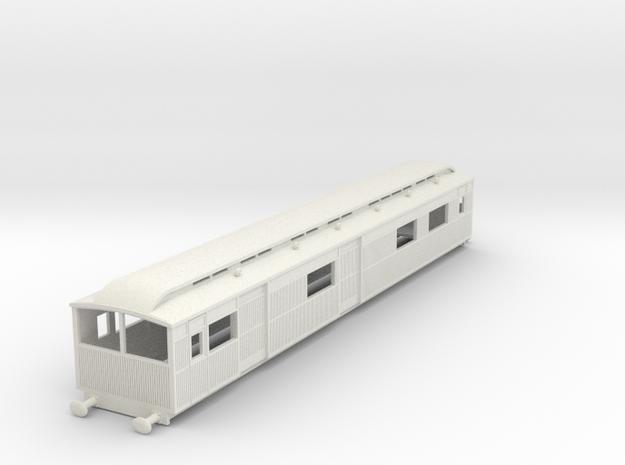 o-87-lyr-electric-baggage-car-3029 in White Natural Versatile Plastic