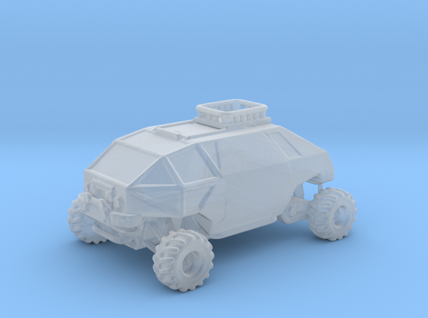 Lost in Space Rover - Small in Smooth Fine Detail Plastic