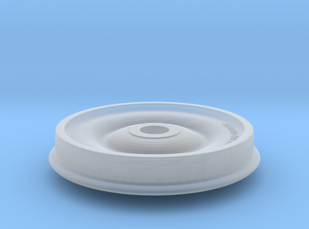 33 Inch Chilled Cast Iron Wheel in Smoothest Fine Detail Plastic