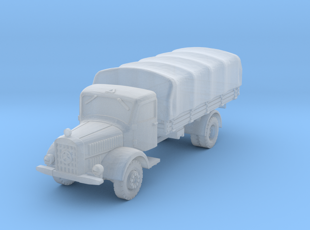 Mercedes L4500 (covered) scale 1/160 in Smooth Fine Detail Plastic