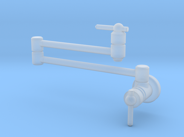 Pot Filler: Contemp (Stationary) in Smooth Fine Detail Plastic