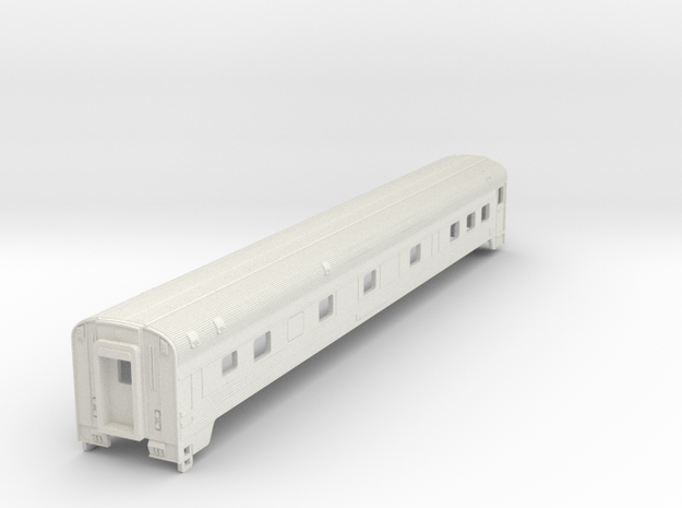 Via Rail Manor Sleeper in NScale in White Natural Versatile Plastic