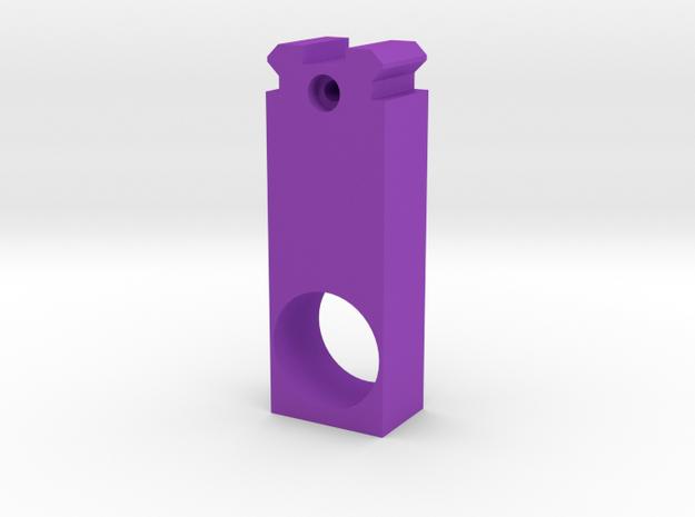 MP5K Air Gun Front Sight Replacement in Purple Processed Versatile Plastic