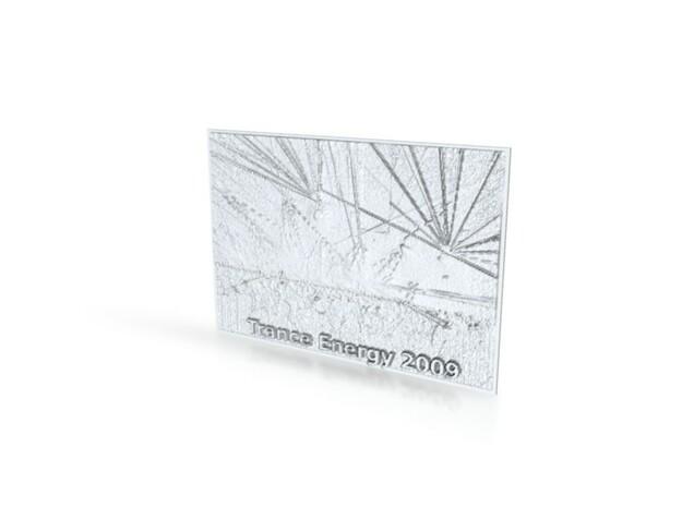 Trance Energy 2009 3d printed