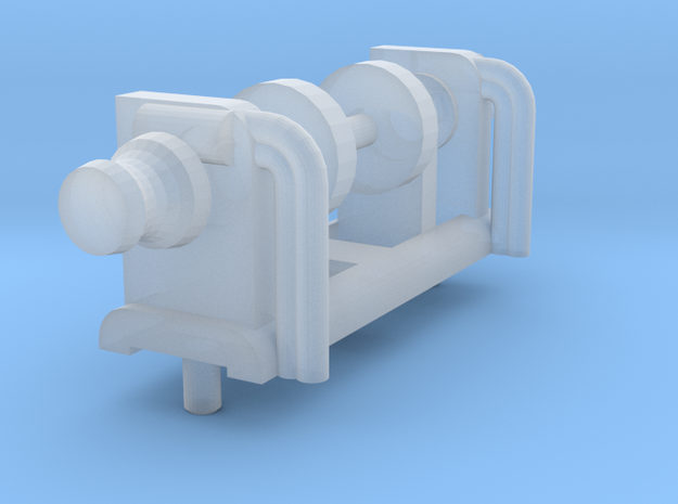 Larger anchor winch (1:200) in Smooth Fine Detail Plastic