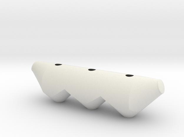 North American Dry Bulk Tank 1:25 in White Natural Versatile Plastic