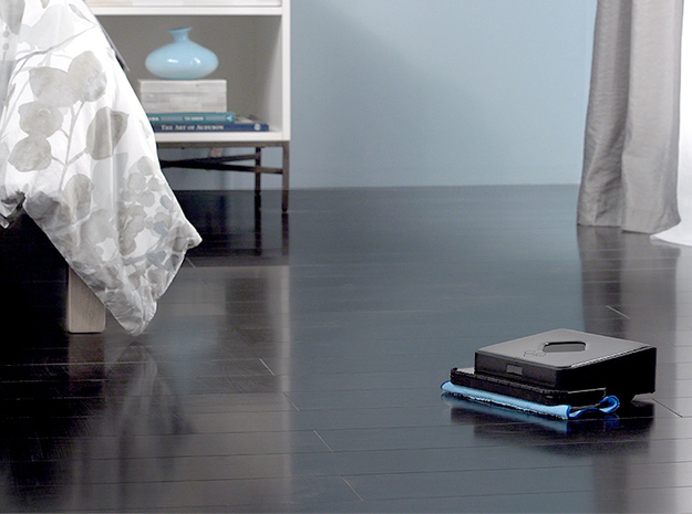 iRobot Braava or Mint Plus Modified Battery Cover in Blue Strong & Flexible Polished
