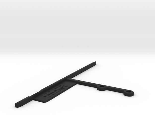 Commodore Ultimate64 64c Mainboard Support in Black Natural Versatile Plastic