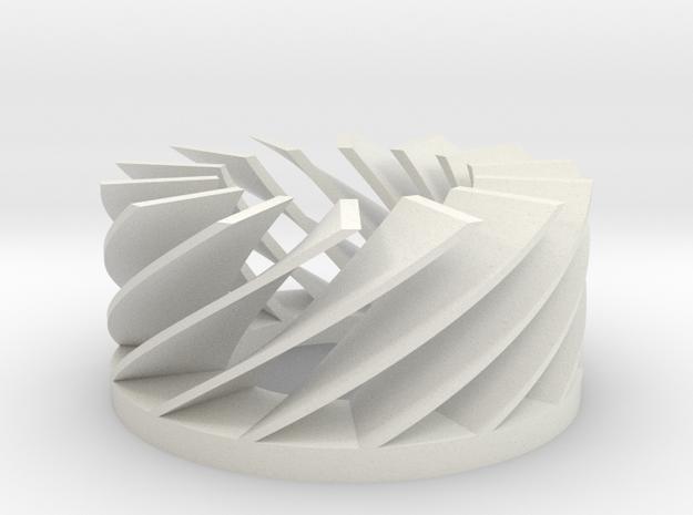 Flexibillity/spring-test 1mm in White Natural Versatile Plastic