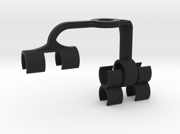 DualMS 19x20x19mm Mic Array in Black Natural Versatile Plastic