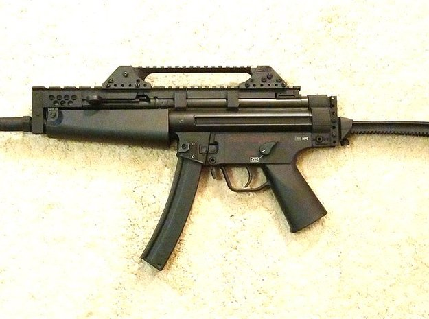 Anarchy Hybrid MP5 Carbine in White Natural Versatile Plastic