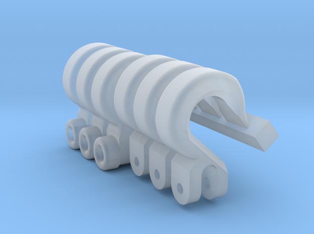 Haken 6x in Smooth Fine Detail Plastic