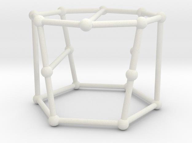 Blanuša snark no. 2 in White Natural Versatile Plastic: Large