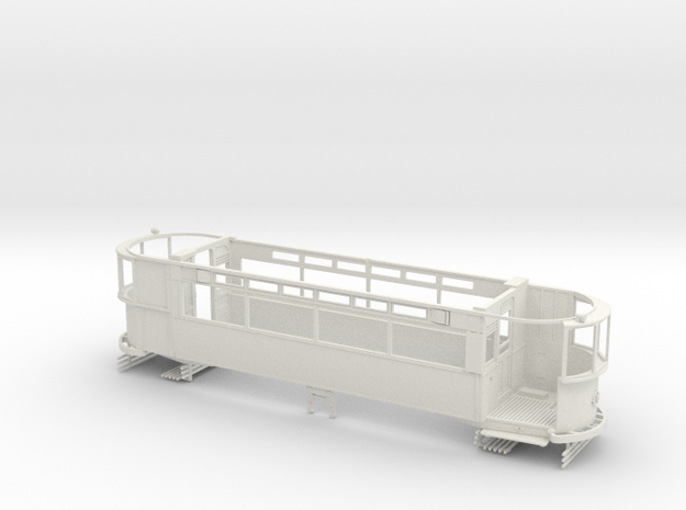 "1:43 London Transport ""Rehab"" E/1 - Part 1 in White Natural Versatile Plastic"