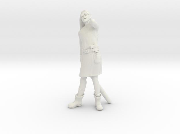 28mm Street Gang Member in White Natural Versatile Plastic