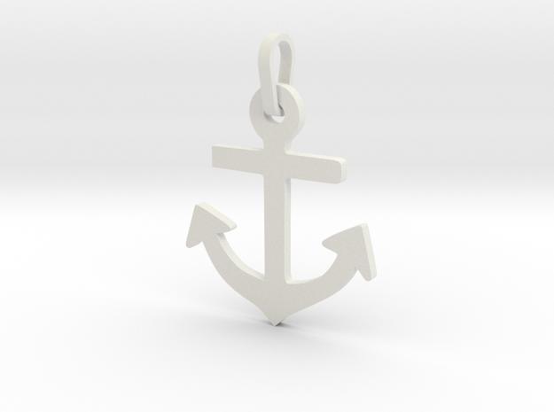 Admiralty in White Natural Versatile Plastic