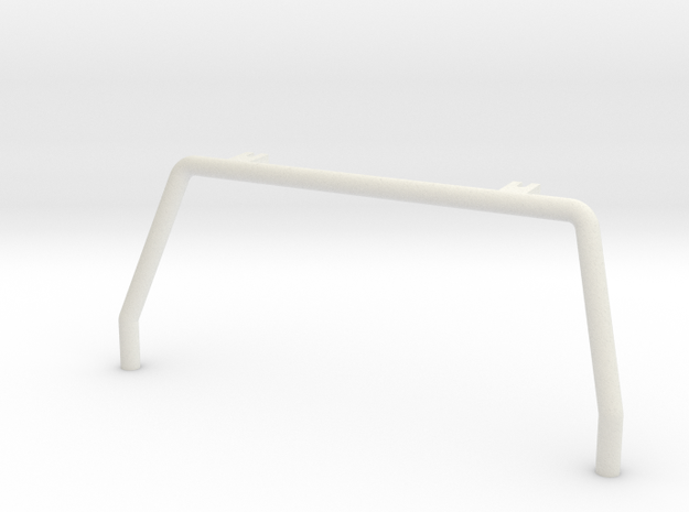 "Tamiya Blazing Blazer Front Roll Bar ""Bar System"" in White Natural Versatile Plastic"