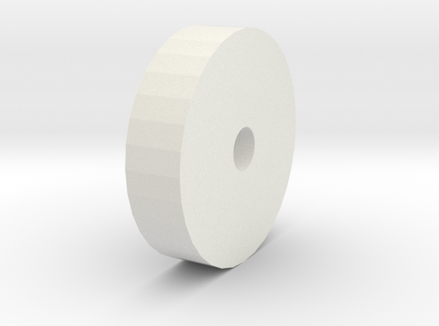 Tire of the robot in White Natural Versatile Plastic