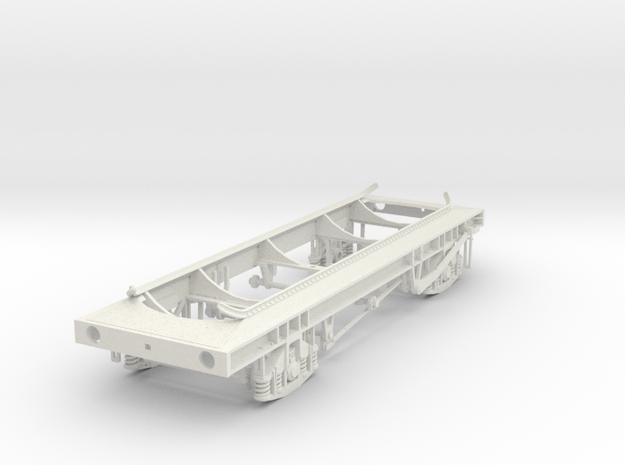 7mm TUB Phosphoric acid tank chassis in White Natural Versatile Plastic