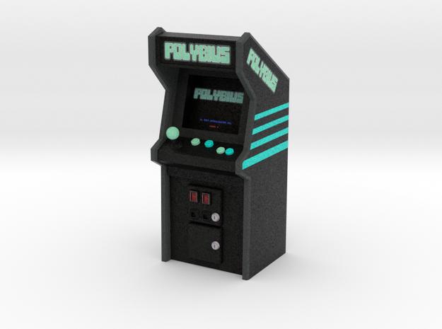 """3 3/4"""" Scale Polybius Arcade Game in Natural Full Color Sandstone: Medium"""