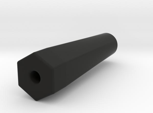2.2, Dually Wheel Adaptor in Black Natural Versatile Plastic