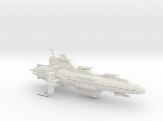 Merlin class Scout Cruiser in White Natural Versatile Plastic