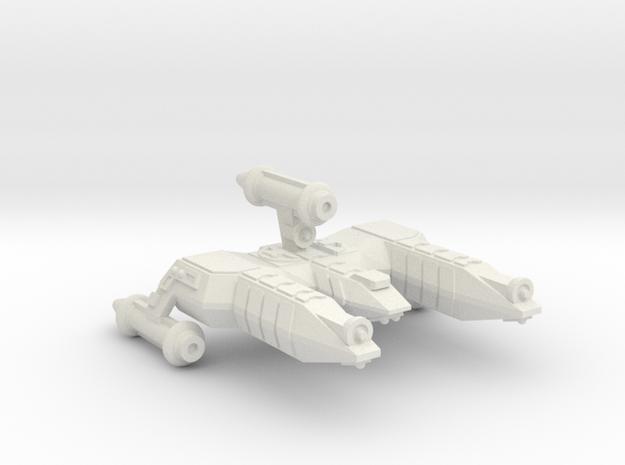 3125 Scale Lyran War Destroyer Scout (DWS) CVN in White Natural Versatile Plastic