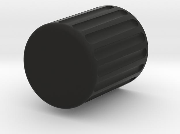 Desktop Trash Can in Black Natural Versatile Plastic
