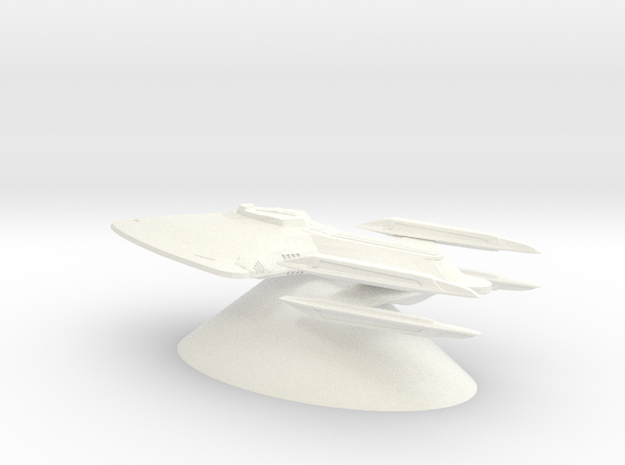 Federation of Planets - Prometheus in White Processed Versatile Plastic