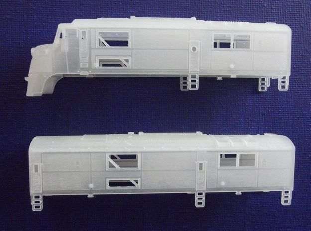 N Scale CNJ Baby-faced Baldwin A and B unit