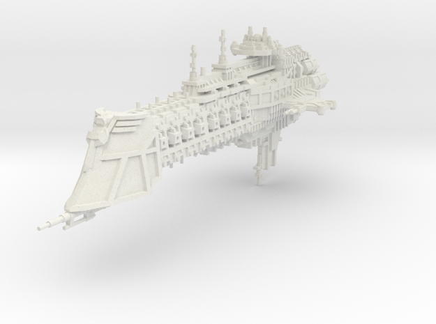 Crucero clase Dominador  in White Natural Versatile Plastic