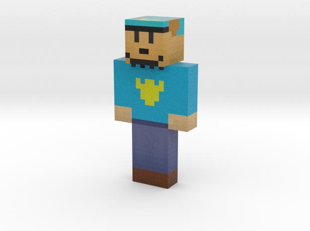 dog_man   Minecraft toy