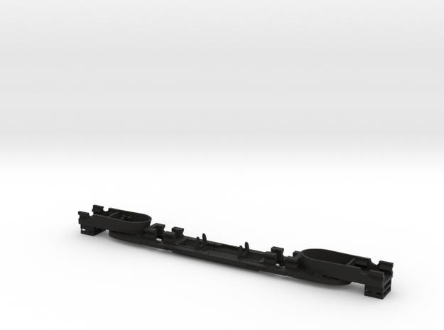 EF-4 Chassis in Black Natural Versatile Plastic