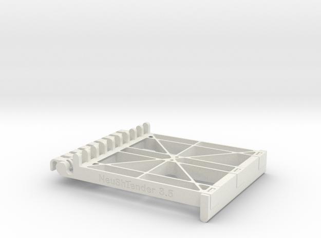 Neushtender v3.5 in White Natural Versatile Plastic
