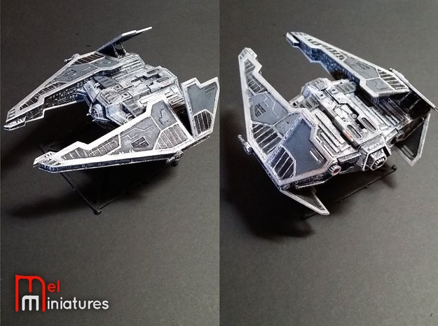 Sith Fury Interceptor (Wings Open) 1/270