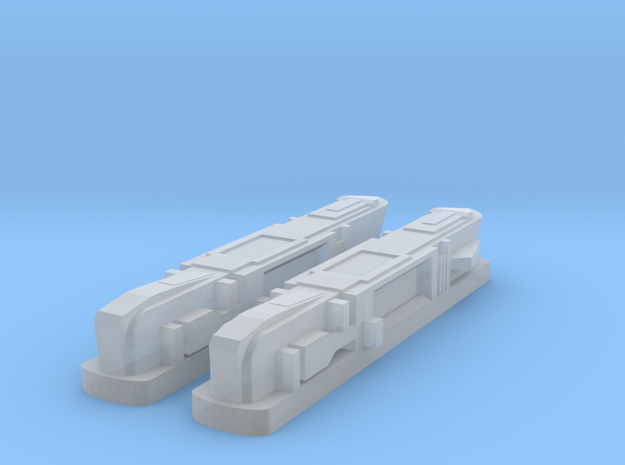 Pointy-Eared Adversary Nacelles 1 in Smooth Fine Detail Plastic