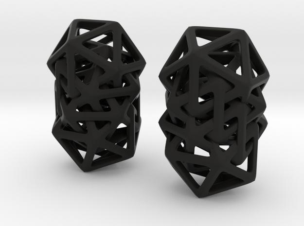 Spiral 20 in Black Natural Versatile Plastic