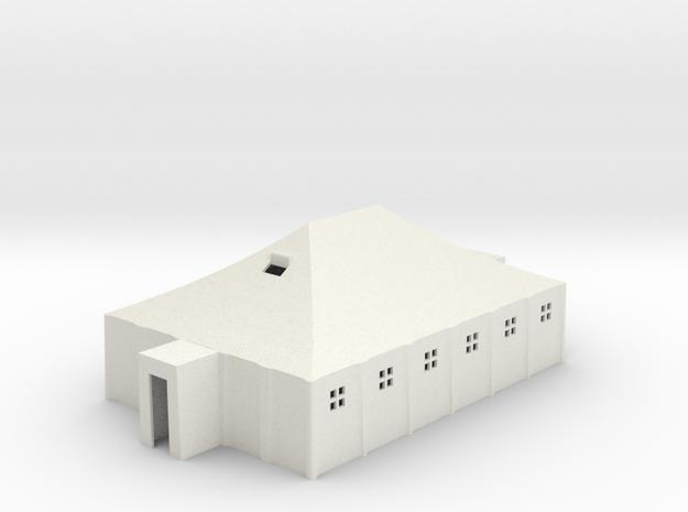 Tent 29x19x12 • 1:87 scale in White Natural Versatile Plastic