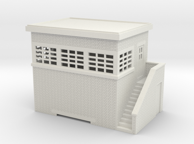 z-100-lms-arp-signal-box-small-rh in White Natural Versatile Plastic