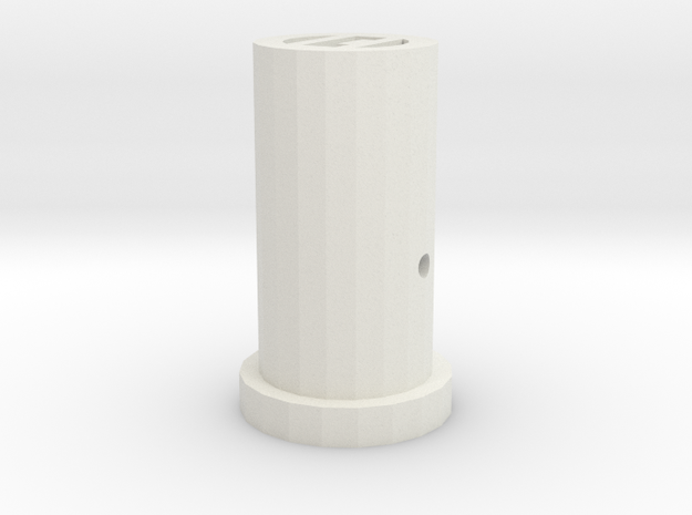 CM-16-H in White Natural Versatile Plastic